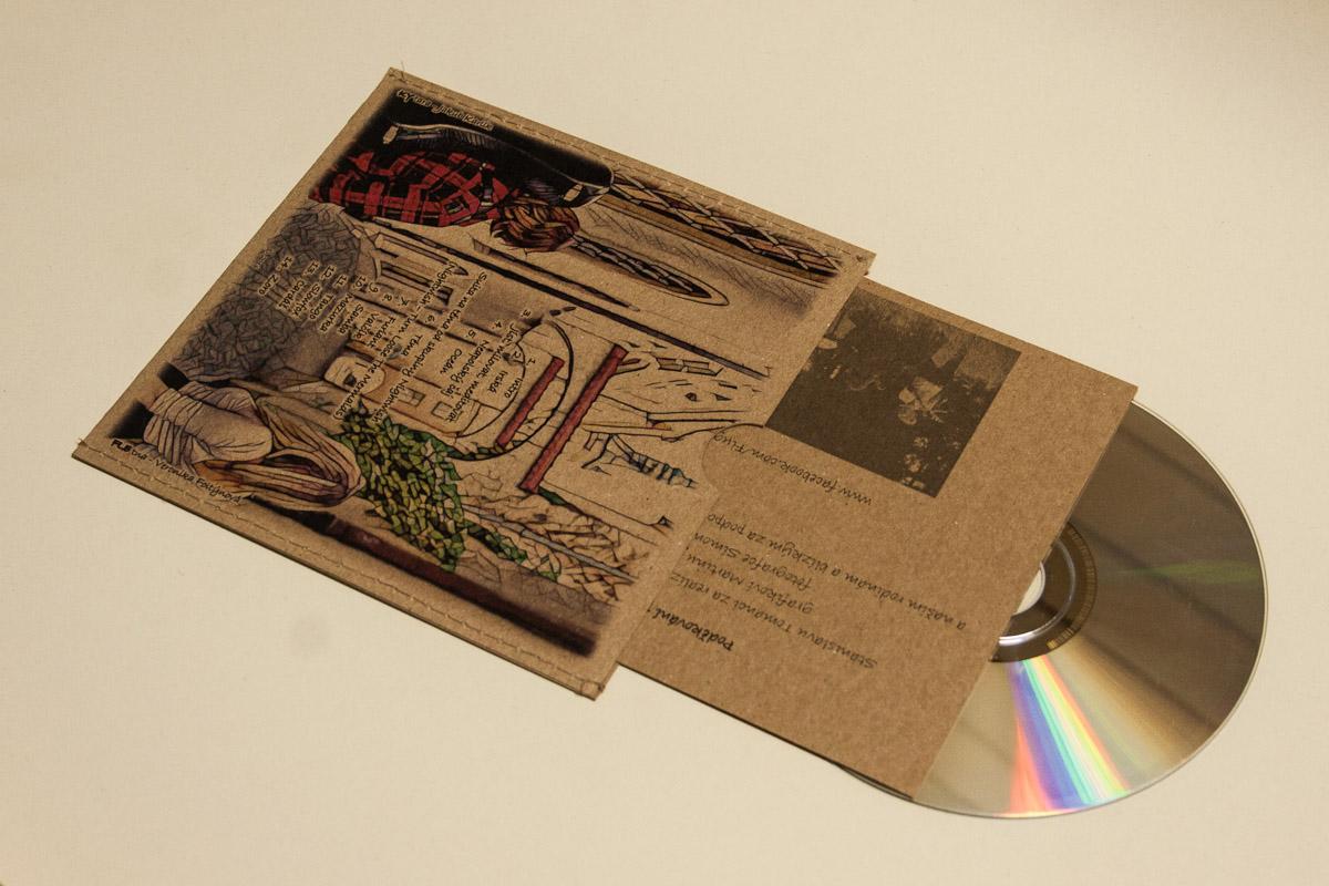 Obal na CD